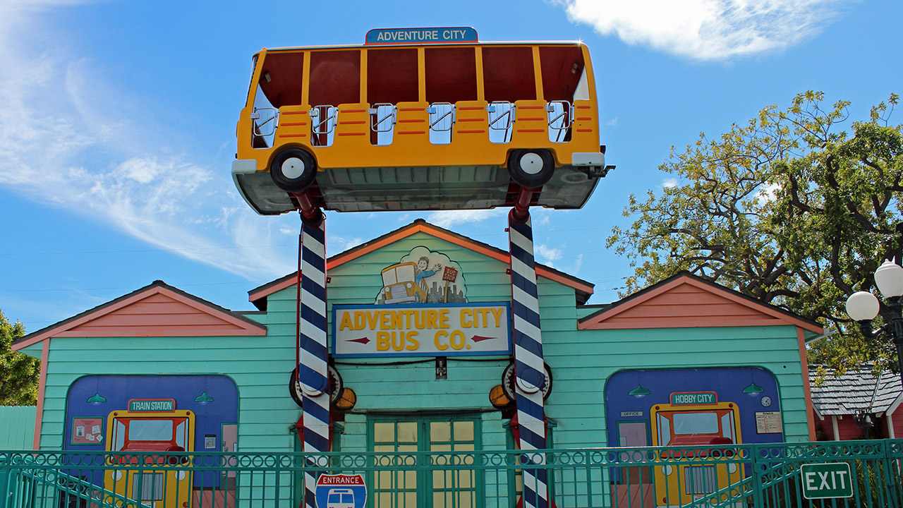 Adventure City Crazy Bus