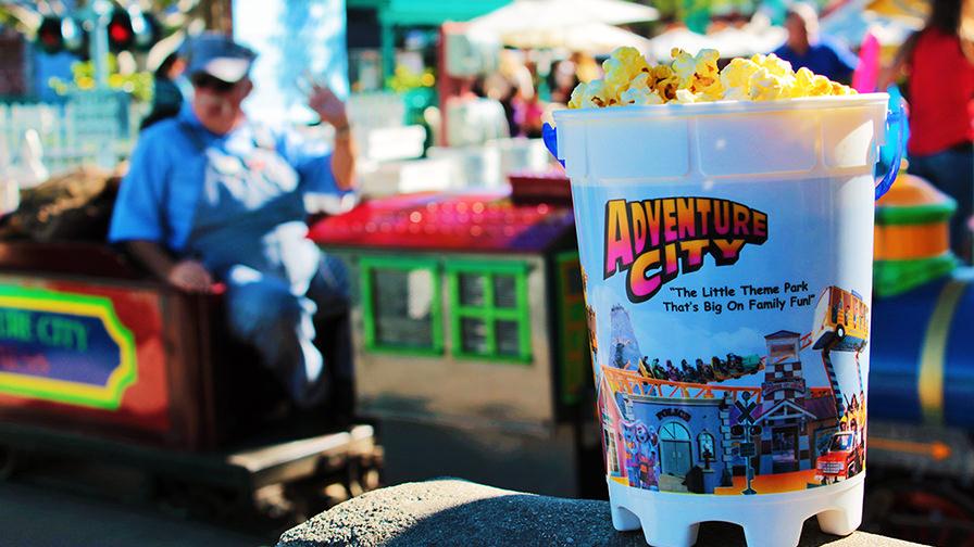 Adventure City Food Options