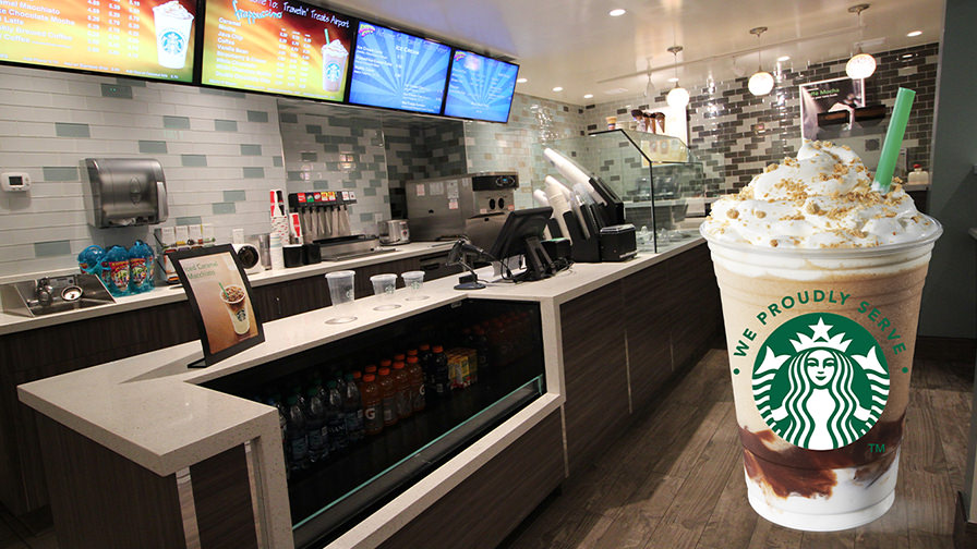 Adventure City Starbucks Interior